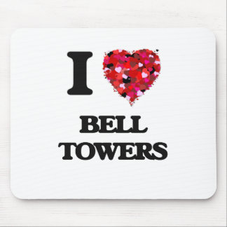 I love Bell Towers Mouse Pad