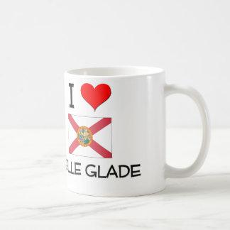 I Love BELLE GLADE Florida Mugs