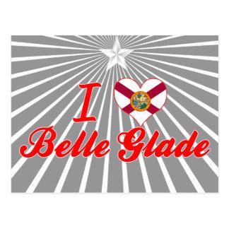 I Love Belle Glade, Florida Post Card