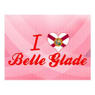 I Love Belle Glade, Florida Postcard