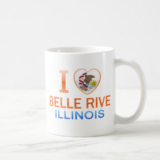 I Love Belle Rive, IL Mug