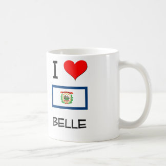 I Love Belle West Virginia Classic White Coffee Mug