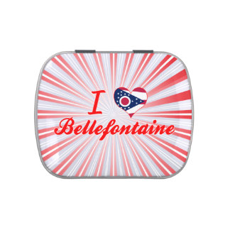 I Love Bellefontaine Ohio Jelly Belly Tin