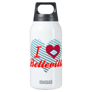 I Love Belleville, Arkansas 10 Oz Insulated SIGG Thermos Water Bottle