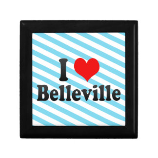 I Love Belleville Canada Jewelry Boxes