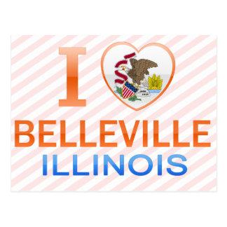 I Love Belleville, IL Postcard