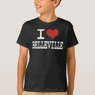 I love Belleville T-Shirt