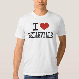 I love Belleville Tee Shirt