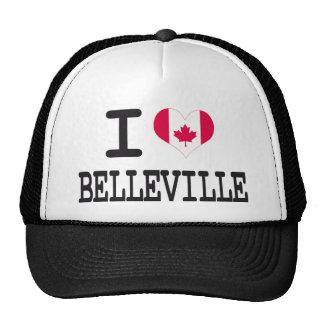 I love Belleville Trucker Hat