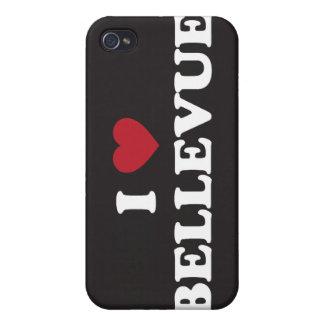 I Love Bellevue Washington iPhone 4 Cover