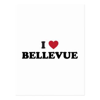 I Love Bellevue Washington Postcard