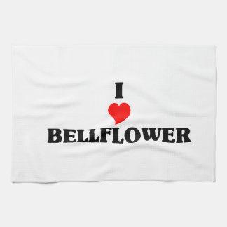I love Bellflower Towels