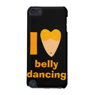 I Love Bellydancing Customizable Name itouch Skin iPod Touch 5G Cases