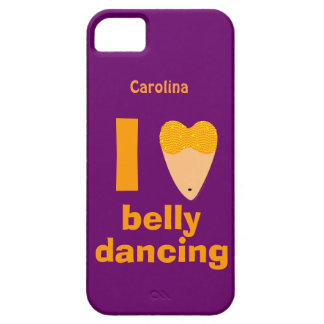 I Love Bellydancing Dancer Custom Name iphone 5 iPhone 5 Cases
