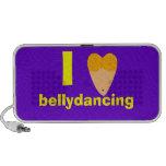 I Love Bellydancing Dancer Torso (I Heart) Travelling Speaker
