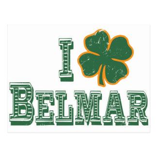 I love Belmar - St. Patrick's Day Postcards