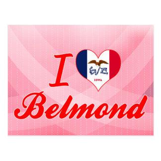 I Love Belmond, Iowa Postcard