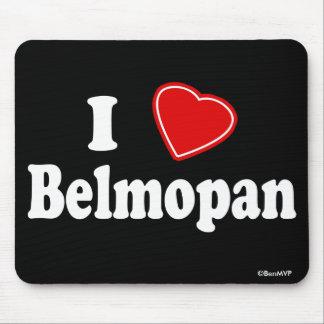 I Love Belmopan Mouse Pad