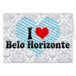 I Love Belo Horizonte, Brazil Greeting Card