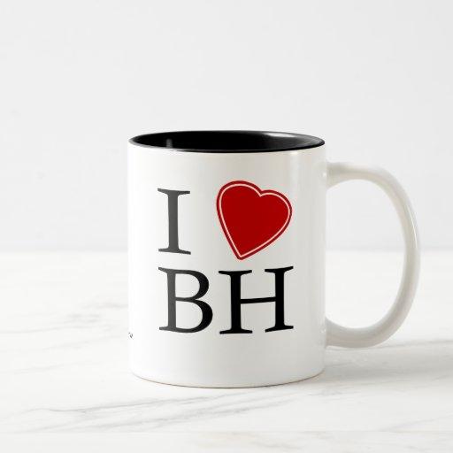 I Love Belo Horizonte Two-Tone Coffee Mug