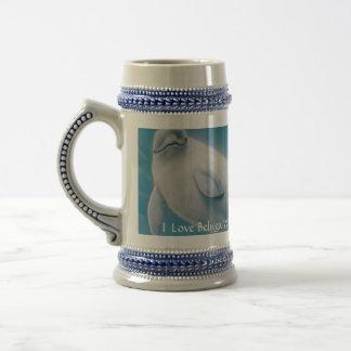 I Love Beluga Whales Coffee Mugs