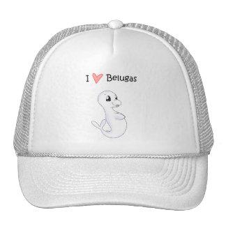 I Love Belugas Hat