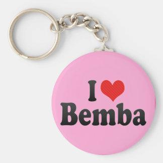 I Love Bemba Keychain