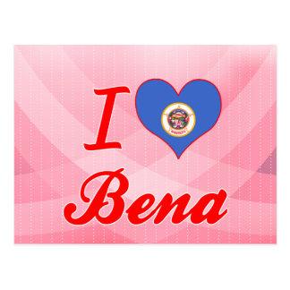 I Love Bena, Minnesota Post Card