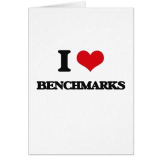 I Love Benchmarks Cards