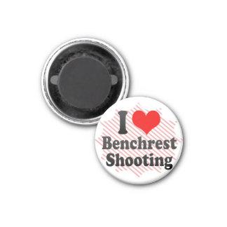 I love Benchrest Shooting Fridge Magnet