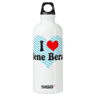 I Love Bene Beraq, Israel Aluminum Water Bottle