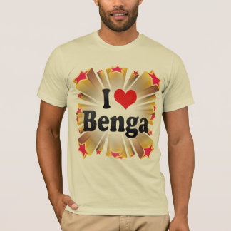 I Love Benga T-Shirt