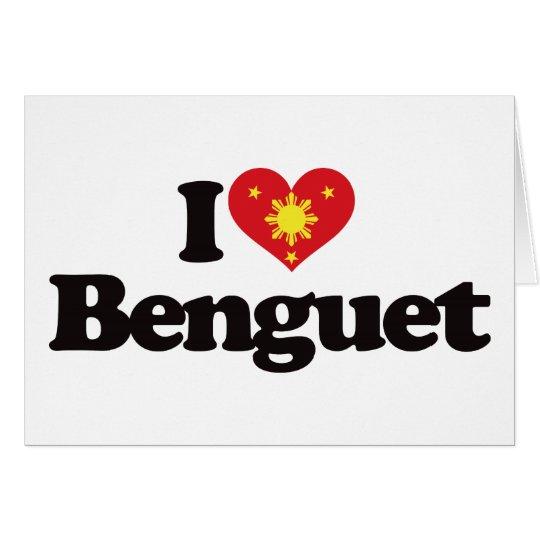 I Love Benguet Card
