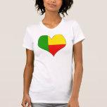 I Love Benin Tee Shirt