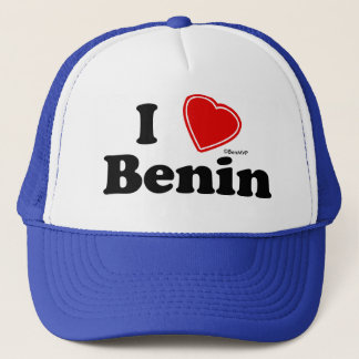 I Love Benin Trucker Hat