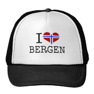 I love Bergen Trucker Hat