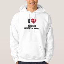 I love Berger Blanc Suisses Hoodie