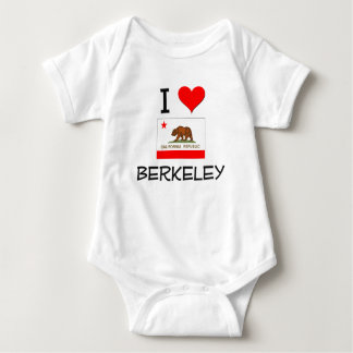I Love BERKELEY California Baby Bodysuit