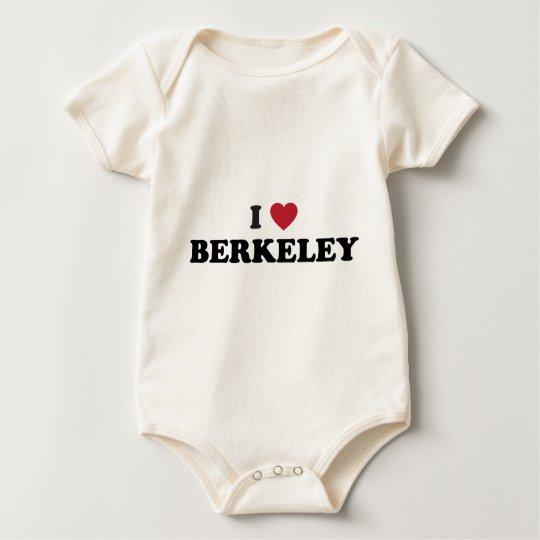 I Love Berkeley California Baby Bodysuit