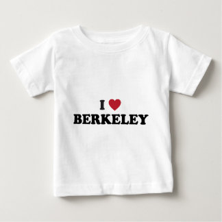 I Love Berkeley California Baby T-Shirt