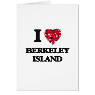 I love Berkeley Island New Jersey Greeting Card