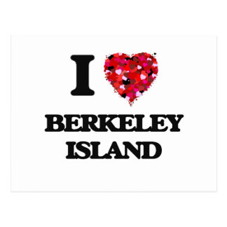 I love Berkeley Island New Jersey Postcard