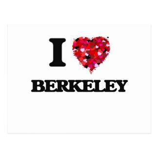 I love Berkeley New Jersey Postcard