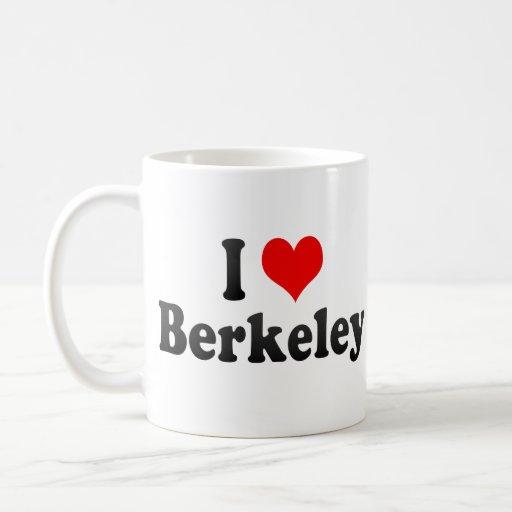 I Love Berkeley, United States Mug