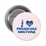 I love Berkshire, New York Pinback Buttons