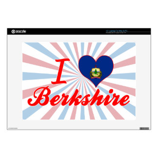 I Love Berkshire Vermont Decals For Laptops