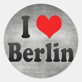 I Love Berlin, Germany. Ich Liebe Berlin, Germany Stickers