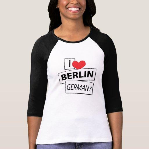 I Love Berlin Germany Shirt