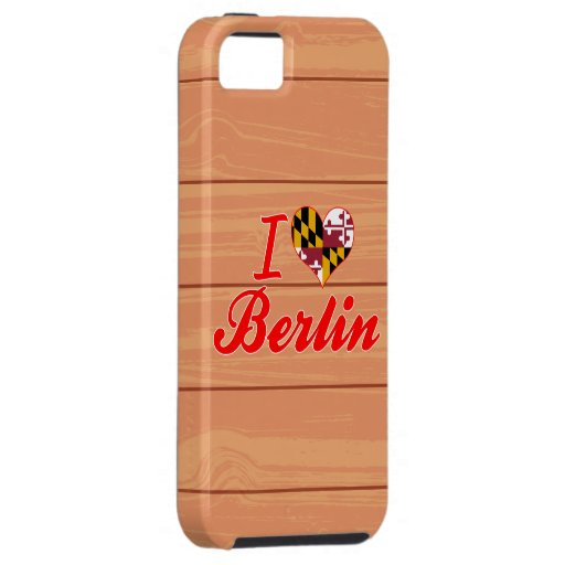 I Love Berlin, Maryland iPhone 5 Cover