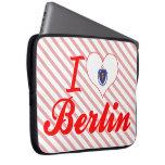 I Love Berlin, Massachusetts Computer Sleeves